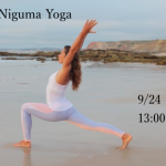 9/24(sun) Lady  Niguma Yoga   at  YOGA  WING  OKINAWA